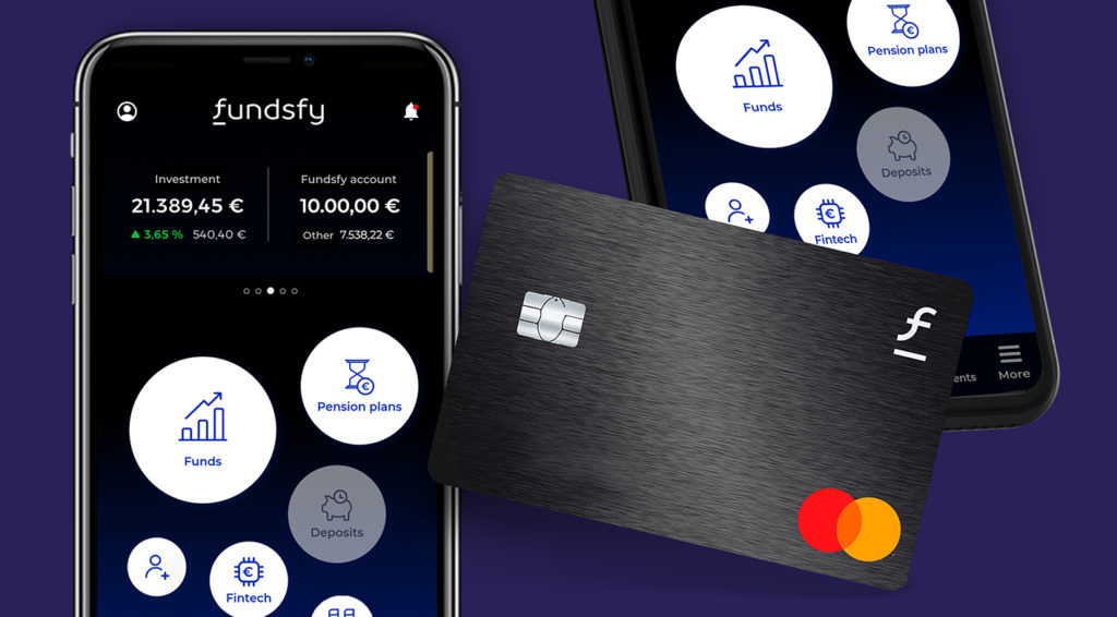 Image of a card and money app